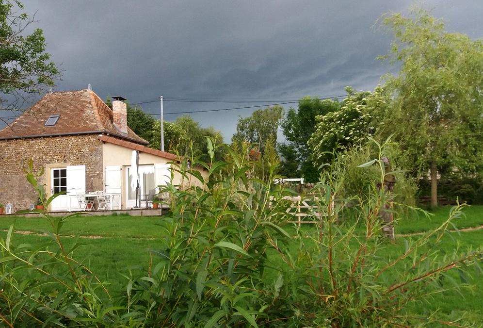 L'orage se prépare...